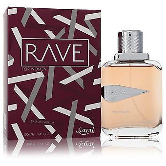 Sapil rave eau de parfum spray by sapil 554952 100 ml