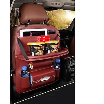 Bil opbevaringspose-hængende, Universal Auto Multi-lomme