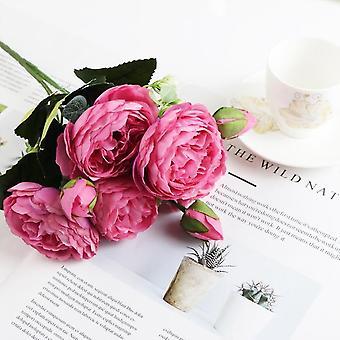 Moderne Kunststoff europäischen Anti-Keramik Blumenvase