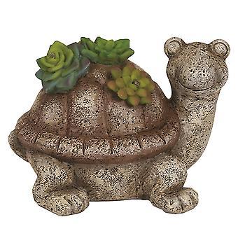 Straits Solar Garden Tortoise 15cm