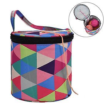 Round Knitting Bag
