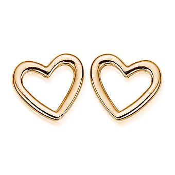 ChloBo Stud Open Heart Earrings GEST1116