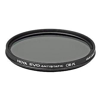 Hoya 82mm evo antistatisch rond polarisatiefilter
