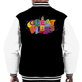 Peikot Mr Dinkles Great Vibes Men's Varsity Jacket