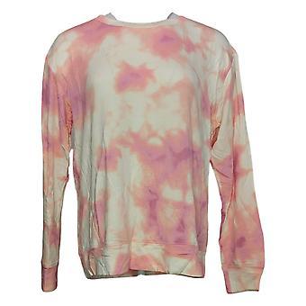 All Worthy Hunter McGrady Women's Pullover Sweatshirt Pink A387047