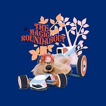 The Magic Roundabout Dougal Race Car Kid's Varsity Jacket