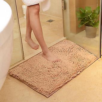 Soft Chenille Bath Mats, Non-slip Mat Rug For Home Living Room Bedroom Kitchen