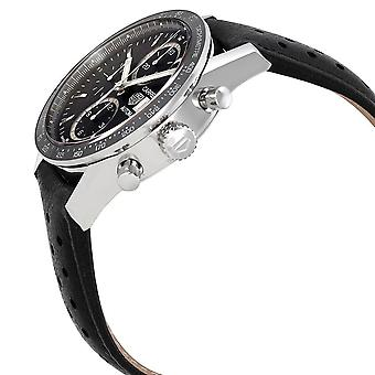 Tag Heuer Carrera Black Dial Automatic Men's Chronograph Watch CV201AJ.FC6357