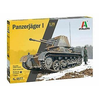 Italeri 6577 Panzerjager I 1:35 Kunststof Model Kit