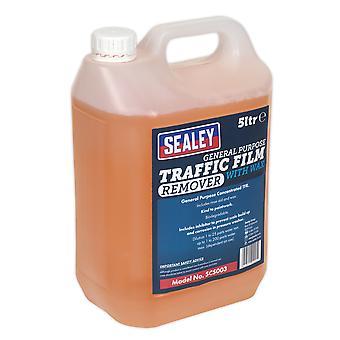 Sealey Scs003 Tfr 洗剤ワックス集中 5Ltr