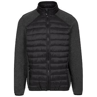 Trespass Mens Jynxter Hybrid Full Zip Fleece jakke