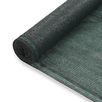 vidaXL Теннисная панель HDPE 1,6x50 м Зеленый