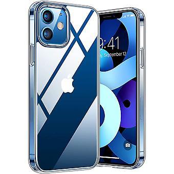 FengChun Diamond Series Hülle für iPhone 12 und 12 Pro Vergilbungsfrei Transparent Superstarke