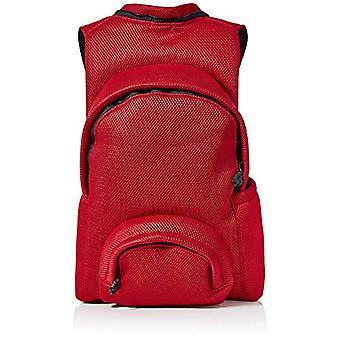MorikukkoMorikukko Hooded Backpack Airnet RedUnisex - AdultZainiMulticolore (Airnet Red)33x8x40 Centimeters (W x H x L)
