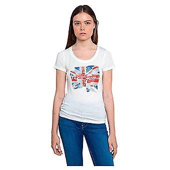 Pepe Jeans Blaze T-Shirt, 803off White, L Donna