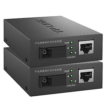 Tp-link Fibers Transceiver Single-mode Single-fiber Sc Interface Fiber Optic