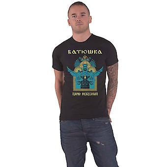 Batushka T-paita Carju Niebiesnyj Band Logo uusi Virallinen Miesten Musta