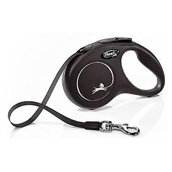 Flexi New Classic Leash Black Tape (Dogs , Collars, Leads and Harnesses , Leads)