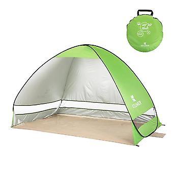 200 * 120 * 130cm Instant Pop Up Beach Tent Automatische Tent Draagbare Outdoor Camping Tent (groen)