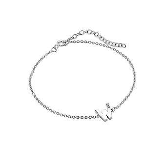 Hot Diamonds Diamond Letter W Bracelet DL634