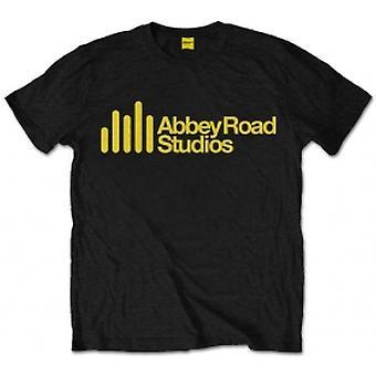 Abbey Road Studios Main Logo Mens Black T Shirt: XXL