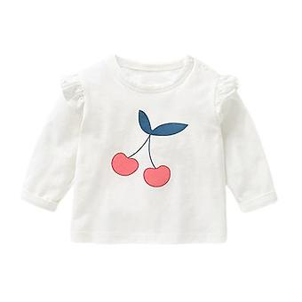 Female Baby Long-sleeved T-shirt Bottoming Shirt Clothes Tops