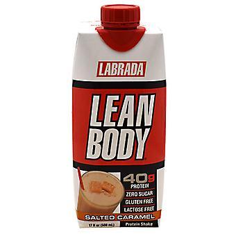 LABRADA NUTRITION Lean Body, Caramel 17 oz(Packof 12)