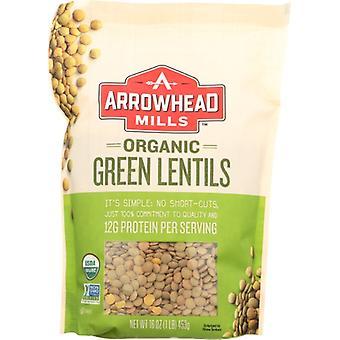 Arrowhead Mills Bean Lentil Grn Org, Case of 6 X 16 Oz
