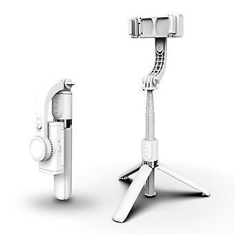 المحمولة gimbal مثبت الهاتف الذكي بلوتوث سيلفي حامل عصا قابل للتعديل موقف مصغرة قابلة للتمدي سيلفي عصا ترايبود في العيش