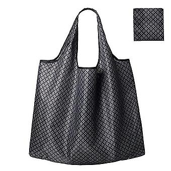 Waterproof Reusable Grocery Bags ,washable Shopping Bags  Foldable(Color4)