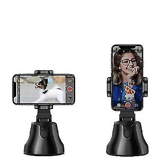 Auto Face Tracking Smart Shooting Phone Camera Holder 360 Rotation Stand(Black)