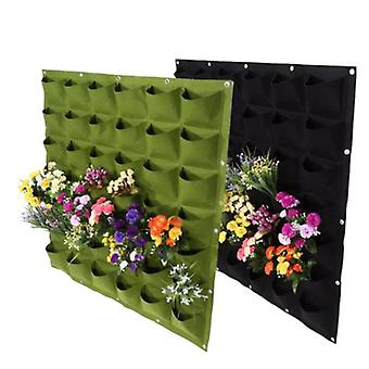Wall Hanging Planters With 36 Pockets Outdoor Large Grow Bags