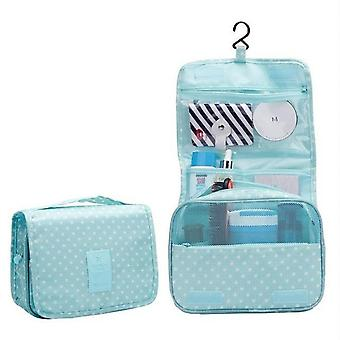 Hanging & Portable Waterproof Polyester Travel Cosmetic Bag