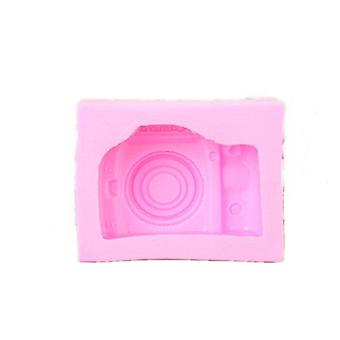 Camera Silicone Soap Mold Fondant Chocolate Clay Mould Creative Baking Tools