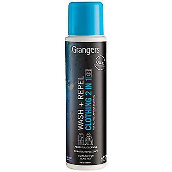 Grangers Wash+Repel Clothing 2 En 1 Nettoyant & Étuve