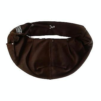 Pet Outing Carrier Bag Cotton Messenger Shoulder Bag, Color: Marrón