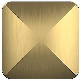Il desktop giocattolo flip dorato capovolge lo stress della tasca del giocattolo rotante allevia il giocattolo - dt7000 quadrilatero