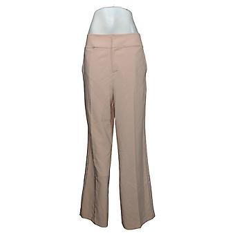 G بواسطة جوليانا المرأة السراويل ريج 12 ساعة تمتد واسعة الساق الوردي 681959