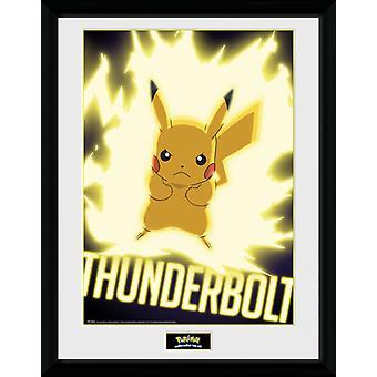 Pokemon Thunder pultti Pikachu keräilijä tulosta