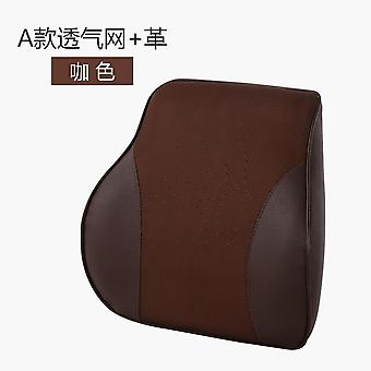 Automobile Back & Lumbar Support Cushions Memory Cotton Cushion Lumbar Cushion Seat Lumbar Pillow Vehicle Back Headrest