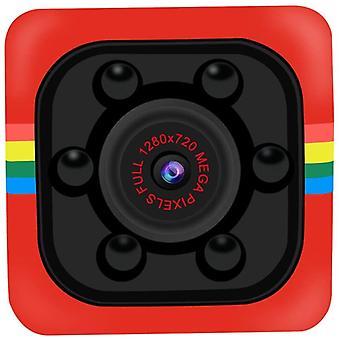 SQ11 Mini Camera 1080P Night Vision Sensor DVR Camera DV(Red)