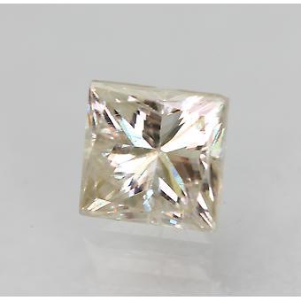 معتمد 0.46 قيراط J VS2 الأميرة تعزيز الماس الطبيعي 4.01x3.94mm 2VG