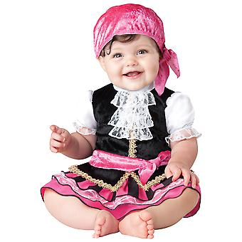 Pretty Little Pirate Baby Girls Infant Costume