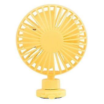 Ventilateurs à main motorisés misters f36 poussette ventilateur de vélo mini portable usb rechargeable clip fan 360 degrés rotatif extérieur poignet ventilateur