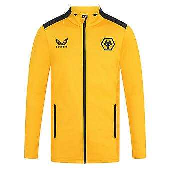 2021-2022 Wolves Anthem Jacket (Gold)