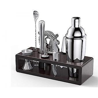 Professionelle Bar-Tools-Set Barkeeper Cocktail Shaker Cocktail Rack Stand Jigger