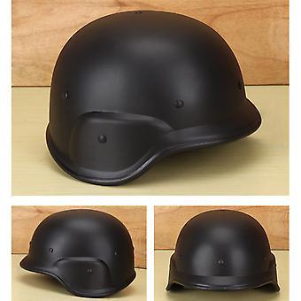 Schwarzer taktischer Helm Pasgt M88 Cs Spiel Outdoor Ausrüstung Kunststoffhelm Schutzhelm