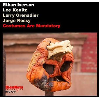 Ethan Iverson - Costumes Are Mandatory [CD] USA import