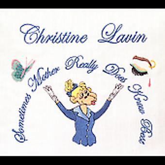Christine Lavin - Sometimes Mother Really Does Know Best [CD] USA import