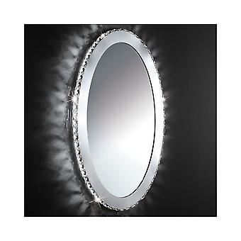 Cercle de Crystal EGLO TONERIA plaque miroir au mur